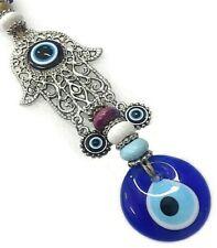 Nazat boncuk colgaduras 34cm ojos de vidrio remolques Fatima decorativas Evil Eye nz20