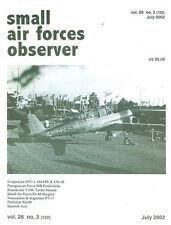 SMALL AIR FORCES OBSERVER V26 N2 Fw.44_URUGUAY DH.89 UH-1B SNC-1_PT-17 ARGENTINA
