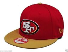 dc22e95492b  27.99 New. San Francisco 49ers Era 9fifty Baycik NFL 2 Tone Snapback Hat  Cap Red OSFM - 886948837645