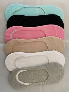 Antibacterial Breathable Ladies Women's Bamboo Invisible Shoe Liner Socks  UK