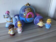 Little People Disney Princess Cinderella Coach Prince Charming W