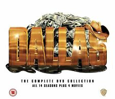 DALLAS (1978) Complete Series DVD Box Set WB (2012) 14 Season 4 Movie Collection