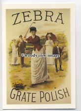 ad3517 - Zebra Paste Grate Polish - Scarlett Jerseys - Modern Advert Postcard