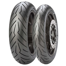 Coppia gomme pneumatici Pirelli 120/70 14 150/70 14 YAMAHA T MAX 500 2001 2003