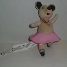 Doudou Souris Ikea - Klappar Circus - Danseuse