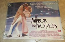 The Mirror Has 2 Faces movie poster - Barbra Streisand poster - original UK quad