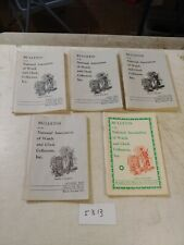 5 NATIONAL ASSOCIATION OF WATCH AND CLOCK COLLECTORS BULLETINS  1973