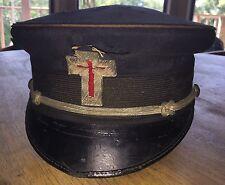 Vintage Knights Templar Masonic Hat Henderson Ames Company Kalamazoo, MA