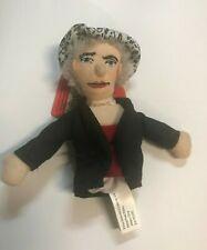 Helen Keller Plush Finger Puppet Magnet Unemployed Magnetic Personalities