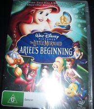 The Little Mermaid Ariel's Beginning Walt Disney (Australian Region 4) DVD - NEW