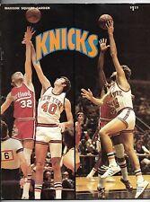 Oct 18 1975 The Last ABA/NBA Nets/Knicks Game Program Erving 27 pts/game winner!