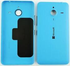 SCOCCA posteriore per Nokia Lumia 640 xl blu back cover copri batteria
