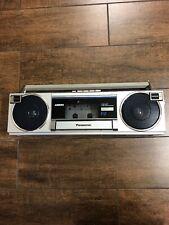 Vintage Panasonic AM/FM Radio Cassette Player Recorder Model RX-F2