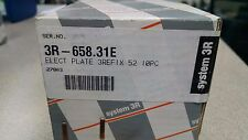 Box of (10) *System 3R* ELECT PLATE 3Refix 52 (3R-658.31E) Pallet (tooling)
