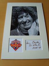 Tom Baker Genuine Autograph - UACC / AFTAL.