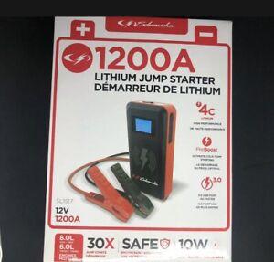 Schumacher SL1517 12V 1200A Lithium Jump Starter Wireless