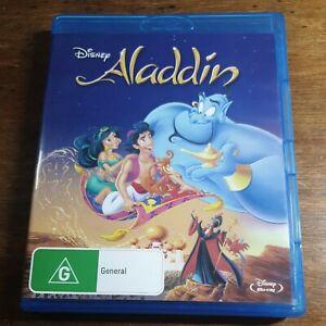 Aladdin Disney Blu-Ray LIKE NEW! FREE POST