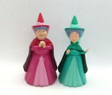 DISNEY 2 FAIRY GODMOTHER 3 inch FIGURES TOYS / CAKE TOPPERS