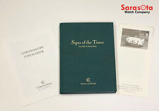 Chronoswiss Signs of the Times Tick-Talk A Timely Book Gerd-R Lang Signed 1st