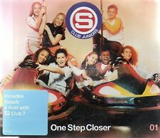 S CLUB JUNIORS - ONE STEP CLOSER (3 tracks plus video, CD single)