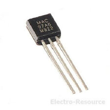 MAC97A6 6A 400V TO-92 Integrated Circuit. UK stock.