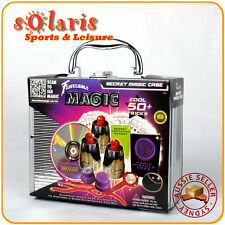 Fantasma Magic's Secret Magic Case Set w/ DVD Children Toy Magic Kit 50+ Tricks