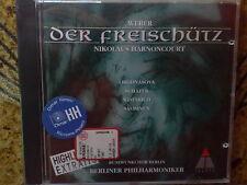 WEBER - DER FREISCHUTZ HIGHLIGHTS - CD NUOVO (SEALED)