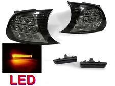 DEPO 02-06 BMW E46 M3 SMOKE LED CORNER + AMBER LIGHT BAR LED SIDE MARKER LIGHTS