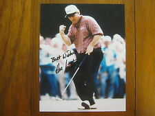 HAL  SUTTON  (1983  PGA Player  of the Year)  Signed   Glossy 8 x 10 Color Photo