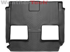 WeatherTech FloorLiner - Dodge Grand Caravan - 2008-2017 - 2nd/3rd Row-Black