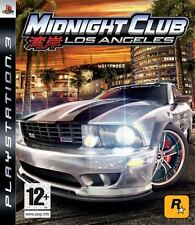 MIDNIGHT CLUB: LOS ANGELES~ PS3 (in Excellent Condition)