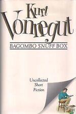 "KURT VONNEGUT ""Bagombo Snuff Box"" SIGNED FIRST EDITION Uncollected Short Fiction"