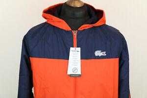 Lacoste Roland Garros hooded mens UV30 windbraker jacket size XS,S,M,L ,RRP £155