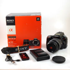 Sony Alpha SLT A33 + 18-55mm Lens *BOXED EXCELLENT CONDITION* | SONY UK DEALER
