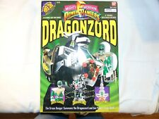 Mighty Morphin Power Rangers Dragonzord. Never open