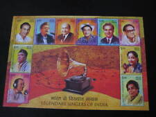 India 2016 Miniature Sheet on Legendary Singers of India - Limited Edition MNH
