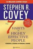 Seven Habits of Highly Effective People by S.R. Covey (English) Paperback Book F