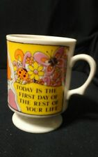 VTG 60's / 70's Viking Japan Mug Southpaws Unite Left-Handed Today is 1st Day