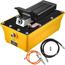 Auto Body Shop 23l Oil Tank Air Hydraulic Foot Pump 10000psi High Pressure