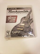 Rocksmith -- 2014 Edition (Sony PlayStation 3, 2013)