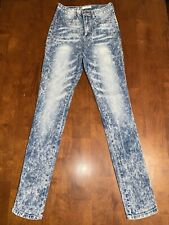 Crave Fame By Almost Famous Girl's Jeans | Size 7 | Light Wash