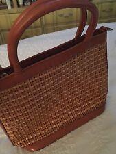 BRAHMIN Purse Bag Authentic Weave 2002 W Feet Grandmas Estate (MIA)