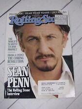 ROLLING STONE MAGAZINE ISSUE 1072 SEAN PENN FEB 19 2009 - R67