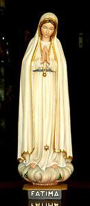Fatima Madonna 45 cm, Mutter Gottes, St. Mary, Holz, wood, NEU