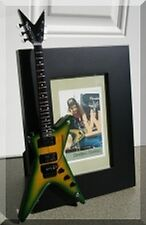 DIMEBAG DARRELL  Miniature Guitar Frame  PANTERA Slime