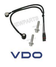 BMW e82 e88 e90 e92 328i e60 528xi Knock Sensor + bolts oem Vdo 13627566785