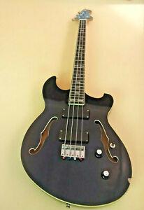 Phred Ernesto short scale bass guitar, rare, free shipping and gig bag