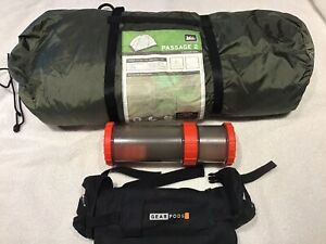 REI Passage 2 tent is a 3-season tent New With Gear pods Bonus Great Deal!