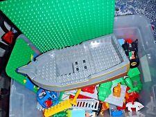 10+ Pounds Lbs Lego Duplo Lot Blocks Figures Dinosaurs Thomas Ship Base Plate