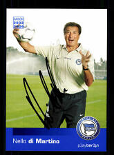 Nello di Martino Autogrammkarte Hertha BSC Berlin 2003-04 Original + A 130576
